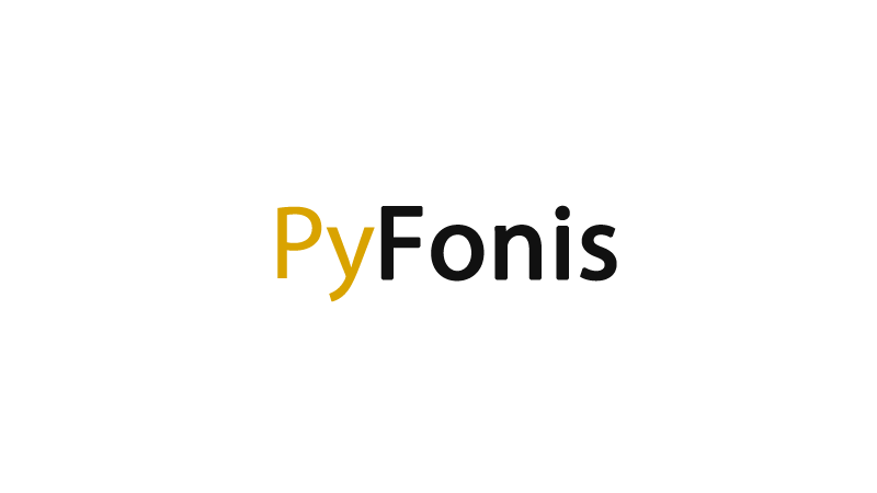 PyFonis